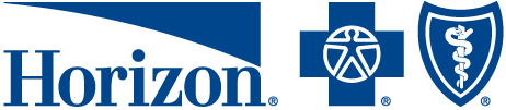 The Horizon Blue Cross Blue Shield Logo
