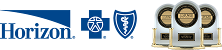 The Horizon Blue Cross Blue Shield Logo with JD Power