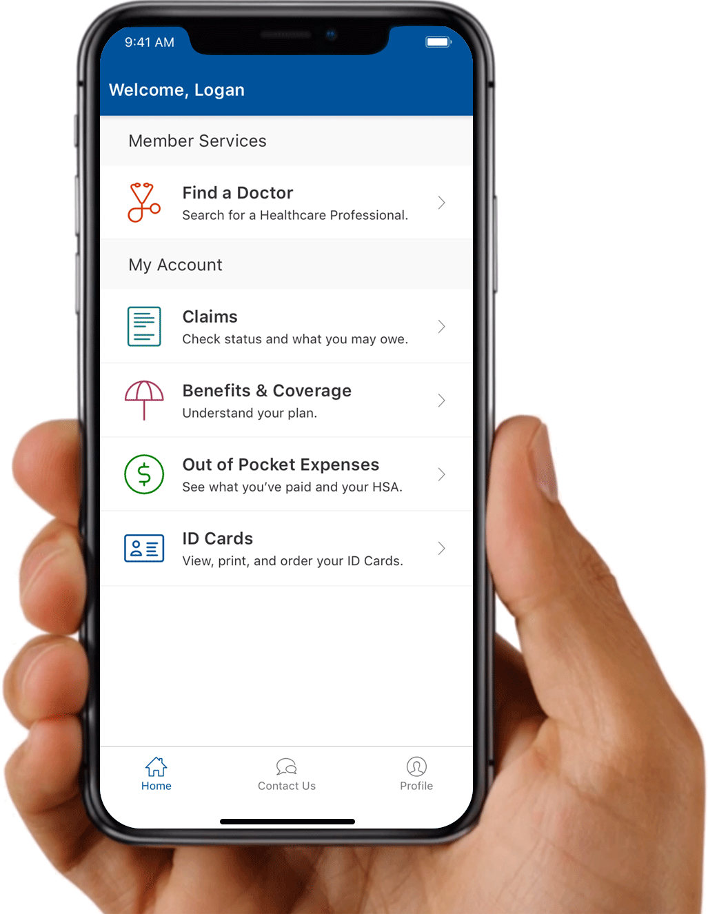 Horizon Member Portal App - Horizon Blue Cross Blue Shield of New Jersey