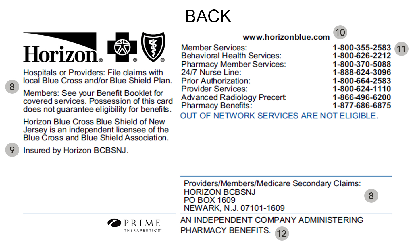 My Member ID Card - Horizon Blue Cross Blue Shield of New Jersey