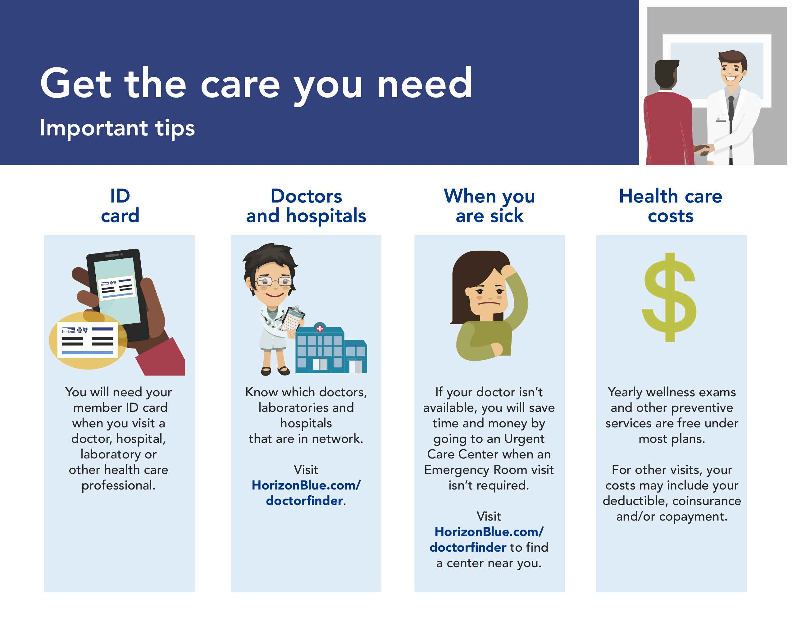 Your Guide to Getting Care - Horizon Blue Cross Blue Shield of New